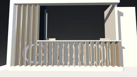 AvB-Balie GGD 3D Model