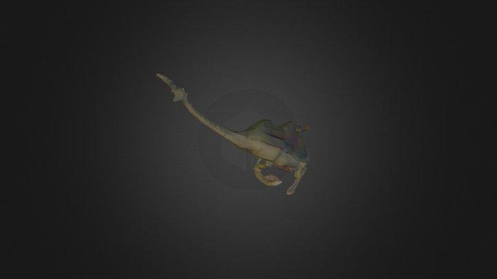 Low Poly Creature 2 3D Model