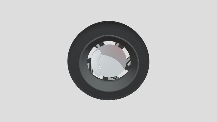 Creta Wheel 3D Model