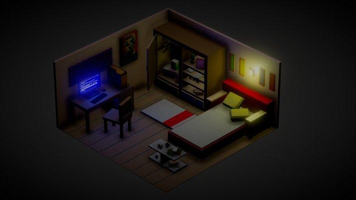 ordinary room 3D Model