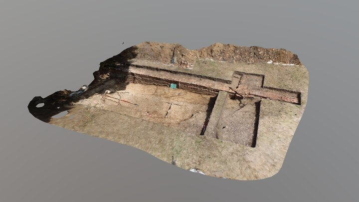 Elsyng Tudor Palace 'Long Barn' 3D Model