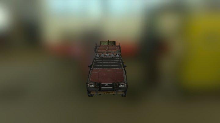 Zombie Survival Truck 3D Model