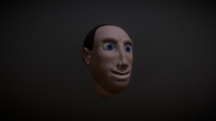 SculptJanuary18 - Day 31: Emotion (Happiness) 3D Model
