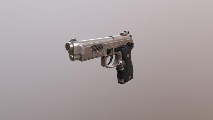Chrome m9 3D Model