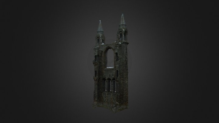 St Andrews Cathedral 3D Model