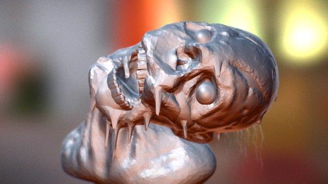 SculptJanuary#17 Zombie 3D Model