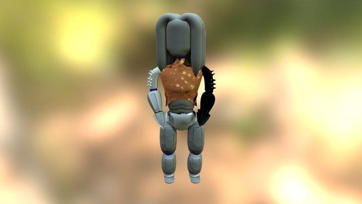robot ROOTS 3D Model