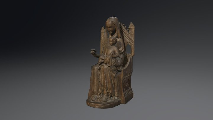 Madonna with Child 3D Model