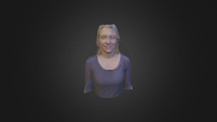 katie 3D Model