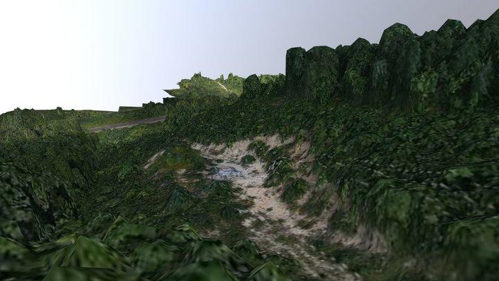 Опора ЛЭП 3D Model