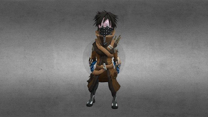 Fantasy Ranger 3D Model