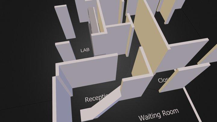 floorplan3D Option-4.dae 3D Model