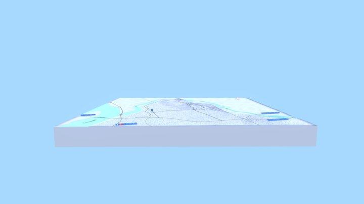 Aavasaksa 3D - Nykytila 2018 3D Model