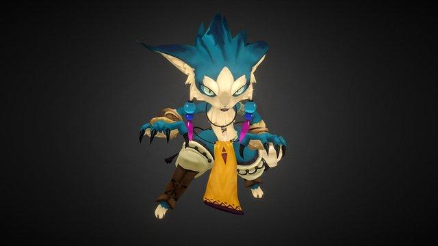 Character1(Ovopack) 3D Model