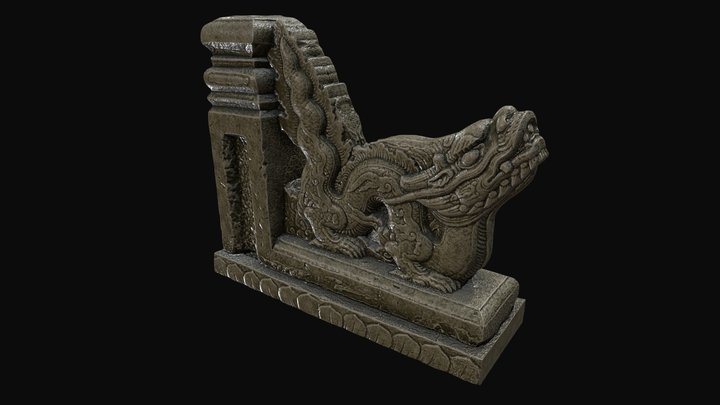 Dragon Le Dynasty - 17th century -HaNoiCity 3D Model
