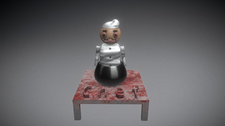 Chefs Table 3D Model