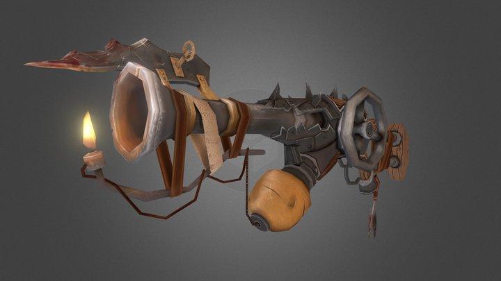 Scorcha Rod 3D Model