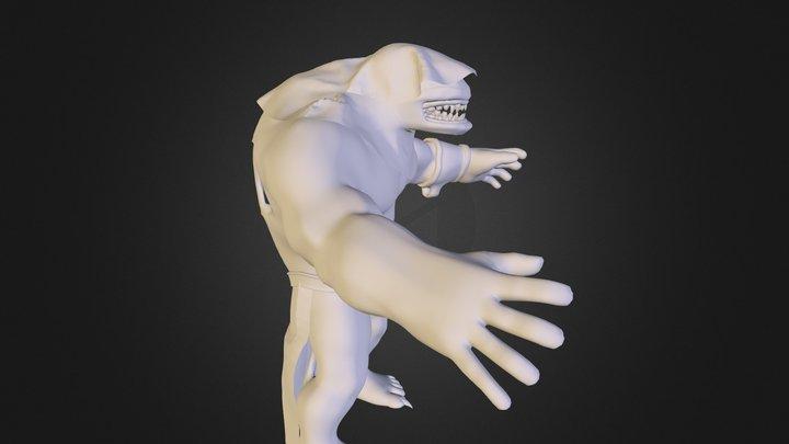 M O N S T E R- S T A G E2 3D Model
