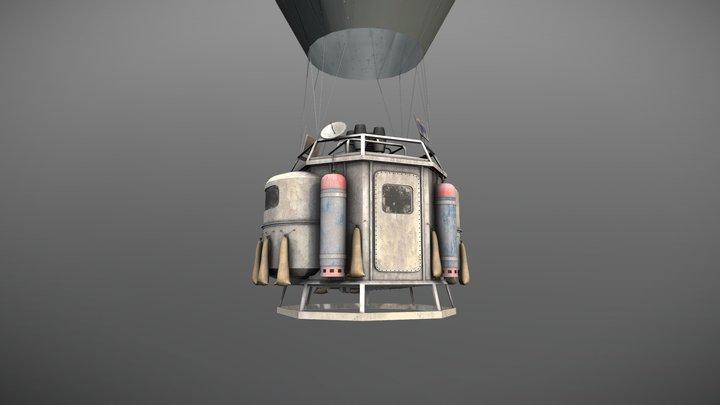 Ballooning 3D Model
