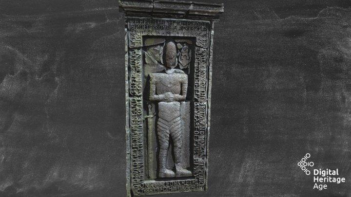 Nobber ME005-071004 - Effigy Tomb 3D Model