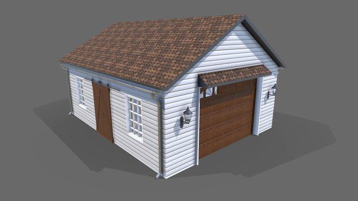 Home Garage 3D Model
