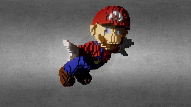 Mario 3D Model