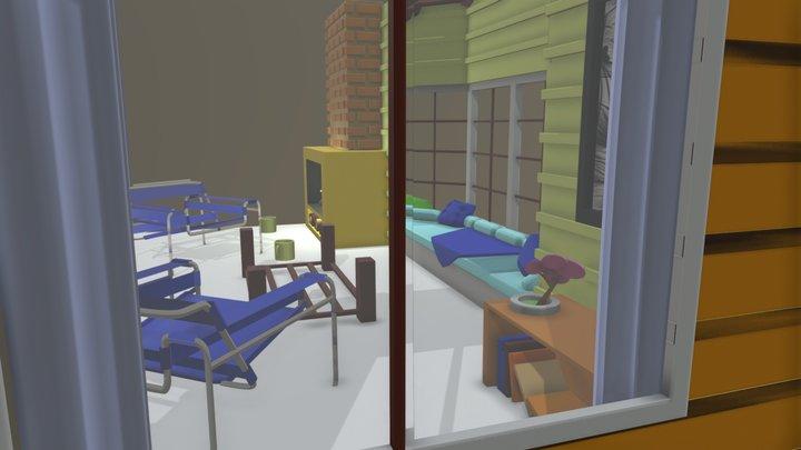 Bay Window 3D Model