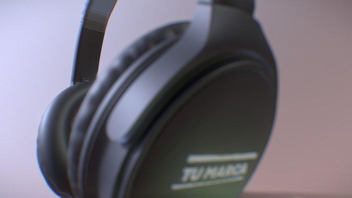 headphones 3d 3D Model