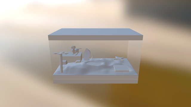 Greybox 3D Model
