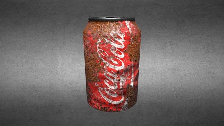 Rusty Coke Can 3D Model