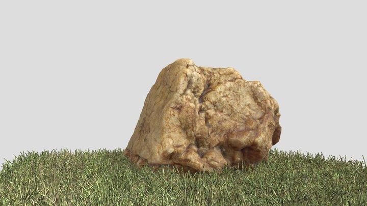 ROCA 01 //Rock 01 //Stone 01 3D Model
