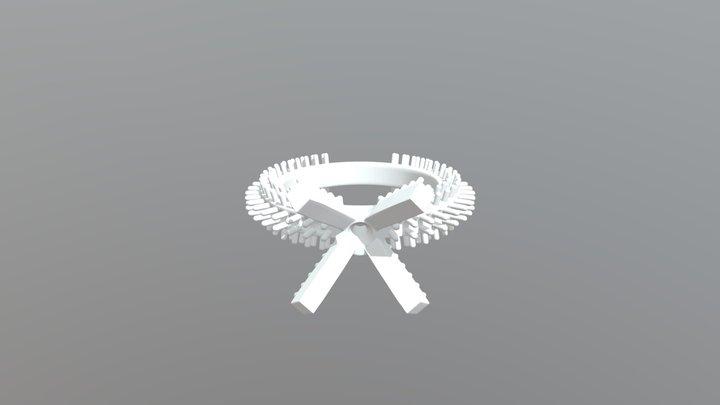 V1 12 Anello - De Tijd - Luca Sabbatini - 3D Model