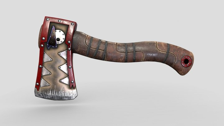Hatchet Rust (GAME) skin 3D Model