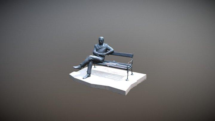 Budapest 3D Statue 3D Model