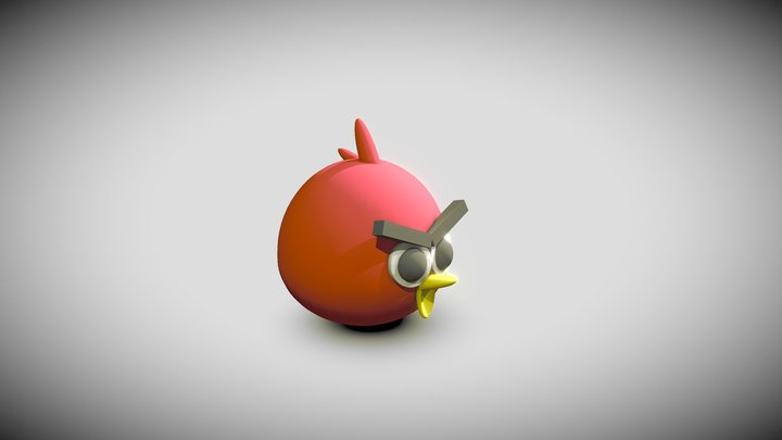 Exercise - Angry Bird by TKW 3D Model