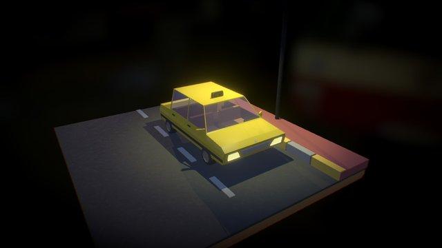 Taxi 3D Model