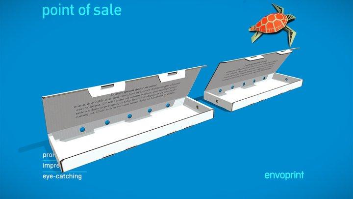 DawnFlowersBox 3D Model
