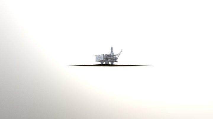 STATFJORD B TOMORROW 3D Model