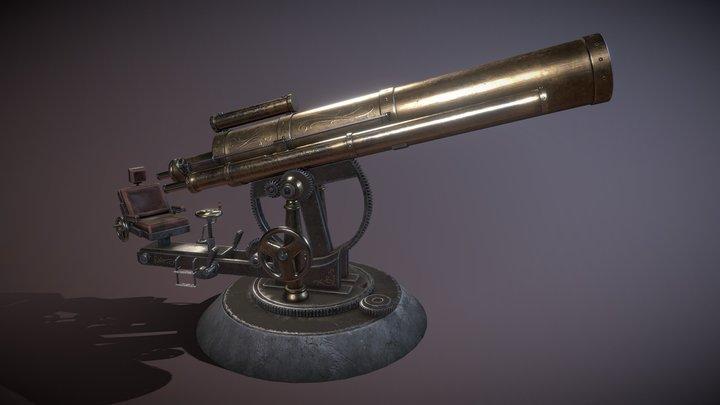 Telescope 3D Model