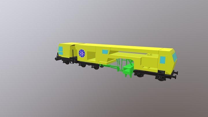 Stopfmaschine B40UM-4 3D Model
