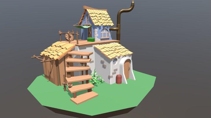 XYZ_Homework_Details_Home 3D Model