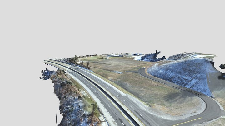 Harlan County BP 12-12-19 Simplified 3d Mesh 3D Model