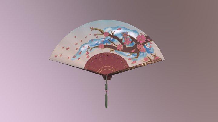 Wind Fan 3D Model