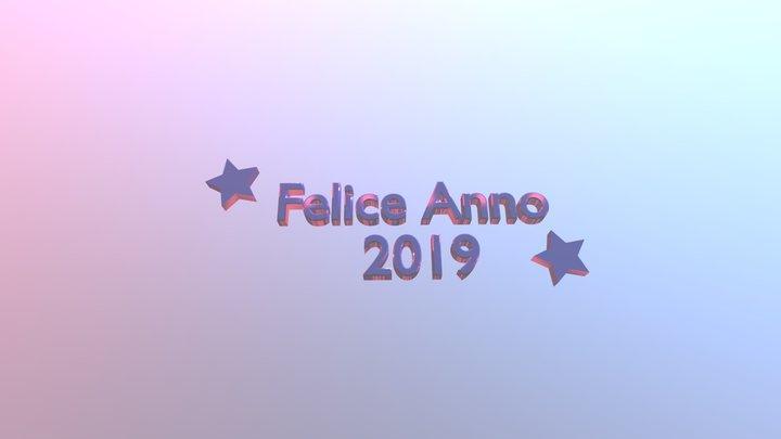 Felice Anno 2019 3D Model