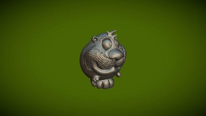 Hamster2 3D Model
