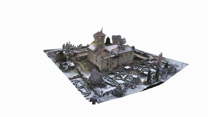 Chateau d'Avully by DEXAN - Modele 3D - Plans 3D Model