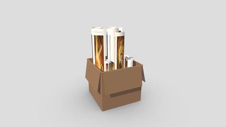 Giclée Prints 3D Model