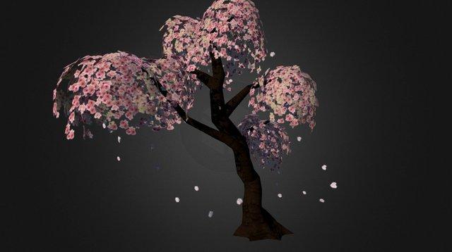 Japanese Sakura (Cherry Blossom) 3D Model