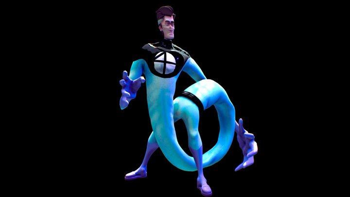 Mr. fantastic 3D Model