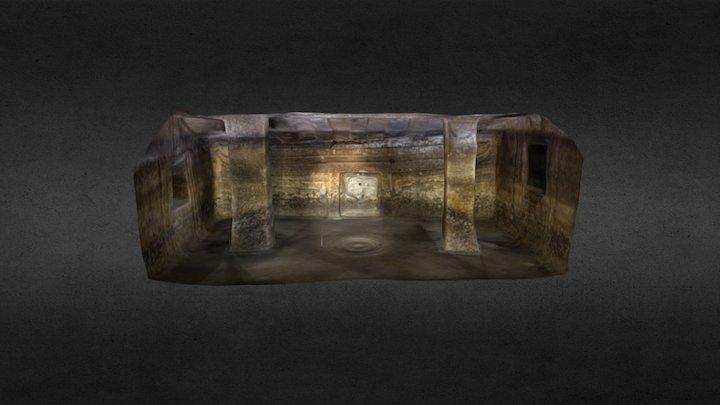 Domus de Janas di S'Incantu:Cella principale 3D Model